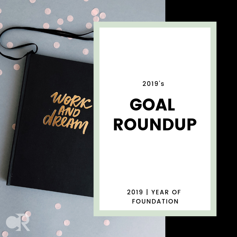 2019 Goal Roundup for the Wealthy Architect